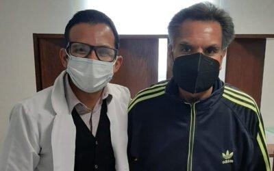 Paciente Enrique Olivares
