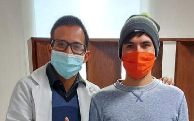 Paciente Allan Sánchez Argüello