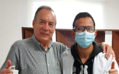 Paciente José Arturo Rodríguez