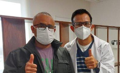 Paciente Rigoberto Gómez Blancas
