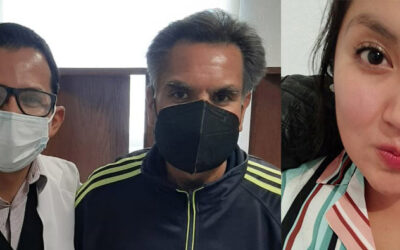 Papá e Hija Enrique Olivares y Martha Olivares Linares