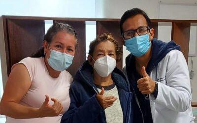 Paciente Jacinta González