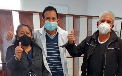 Paciente Fortino Sánchez Jiménez