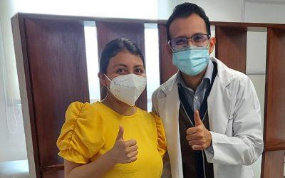 Paciente Paola Mejía